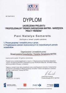 certyfikat-matrix-pl