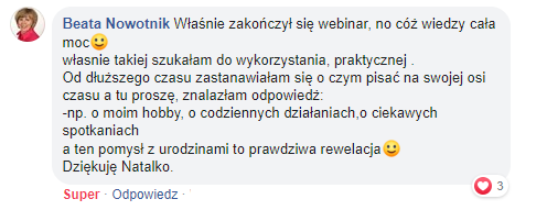 profil na Facebooku